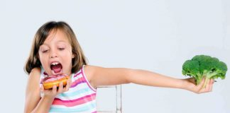 Comment élever des enfants régime amincissant en bonne santé: une affaire de famille